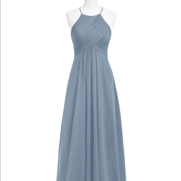 8416c7b5b0 Azazie Dresses   Skirts - Dusty Blue - Azazie Ginger bridesmaid dress